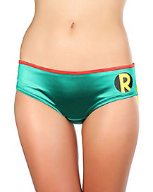Batman Robin Caped Panties