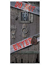 Spooky Door Cover - Decorations
