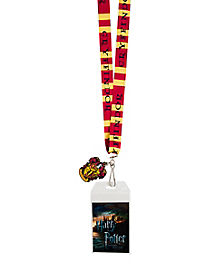 Gryffindor Lanyard - Harry Potter