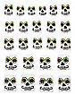 Sugar Skull Press On Nails