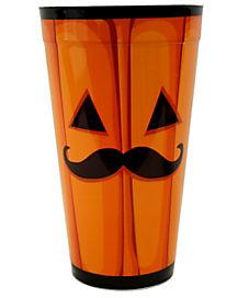 Pumpkin Mustache Cup