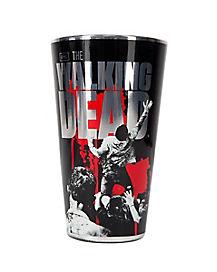 Walking Dead Metallic Pint Glass