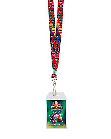 Power Ranger Faces Lanyard