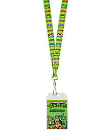 Teenage Mutant Ninja Turtles Growl Faces Lanyard