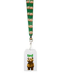 Ted Girls Names Lanyard - Ted
