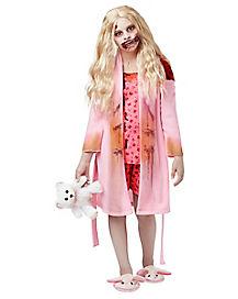 Walking Dead Bunny Slipper Girl Child Costume