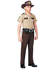 Walking Dead Rick Grimes Boys Costume