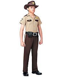 Walking Dead Rick Grimes Boys Costume