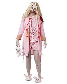 Walking Dead Bunny Slipper Girl Adult Womens Costume