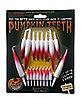 Blood Tipped Pumpkin Fang Teeth