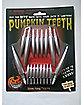 Silver Tipped Pumpkin Fang Teeth