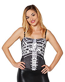 Skeleton Adult Corset