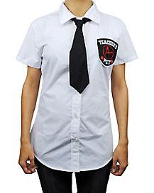 Teachers Pet Shirt with Tie