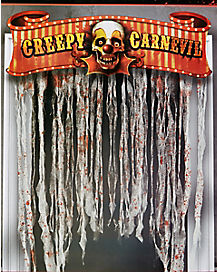 Creepy Carnival Door Topper