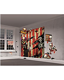 Clown 35-Piece Wall Kit