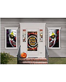 Clown 35-Piece Window Kit