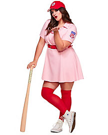 Rockford Peaches Adult Womens Plus Size Costume