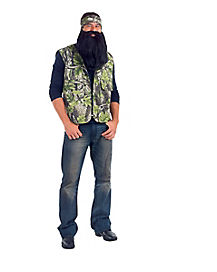 Adult Camo Vest and Bandana
