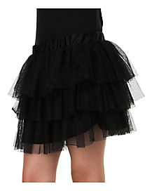 Ruffle Skirt - Black