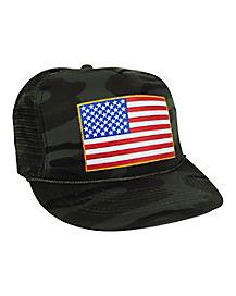 Flag Patch Trucker Hat