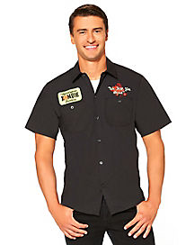 Adult Zombie Hunter Work Shirt Costume