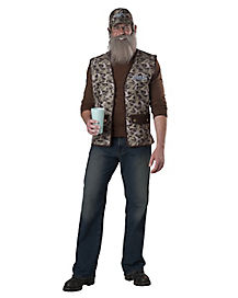 Adult Si Costume - Duck Dynasty