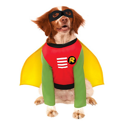 Robin Dog Costume - Batman