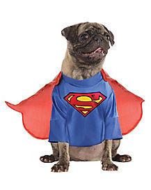 Superman Dog Costume - Superman