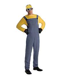Adult Dave Minions Costume - Despicable Me 2