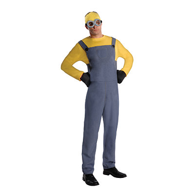 Despicable Me 2 Dave Minion Mens Adult Size Costume