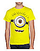 Minion Face T Shirt - Despicable Me 2
