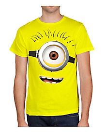 Despicable Me 2 Big Face Adult Mens T-Shirt