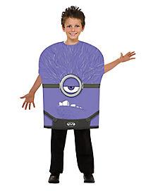 Kids Evil Minion Costume - Despicable Me