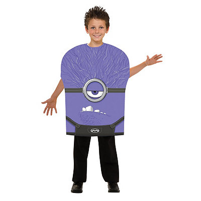 Despicable Me Evil Minion Child Size Costume