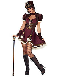 Adult Steampunk Dress Costume