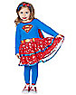 Toddler Sparkling Supergirl Costume - Superman