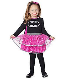 Black and Pink Batgirl Toddler Costume
