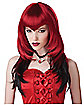 Black and Red Temptress Wig