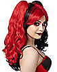 Red and Black Jester Wig
