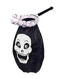 Skull Loot Scoop Treat Bag