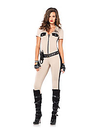 Deputy Patdown Adult Womens Cop Costume