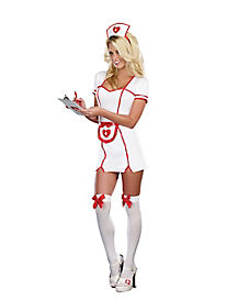 Really Naughty Nurse Adult Womens Costume
