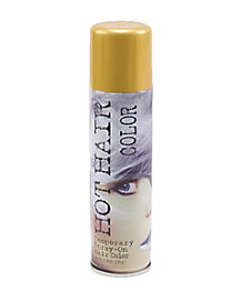 Metallic Gold Hairspray