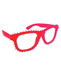 Pink Spike Glasses
