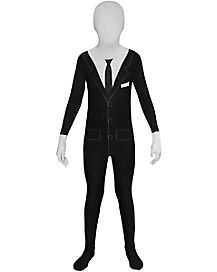 Kids Slenderman Skin Suit Costume - Slenderman