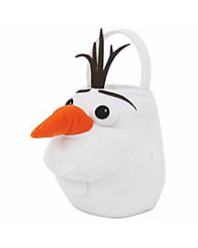 Frozen Olaf Plush Bucket