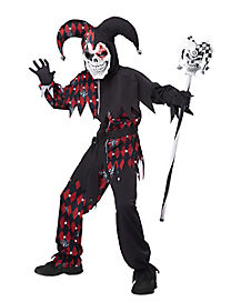 Sinister Jester Boys Costume