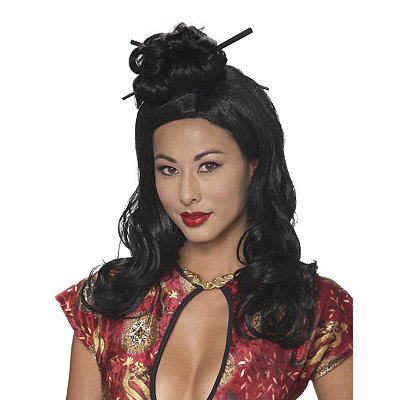 Enchanted Geisha Wig
