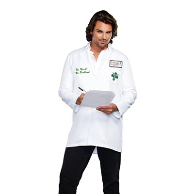 Bud Smoker Lab Coat