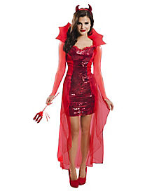 Red Hot Devil Womens Costume